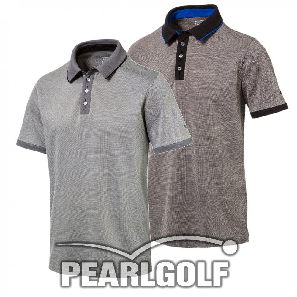new product f47b4 4c360 Puma Golf TAILORED PLACKET Poloshirt - Herren